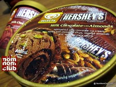 Hershey's Milk Chocolate with Almonds Ice Cream