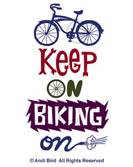 Keep On Riding On t graphic (birdarts) Tags: sports illustration cycling bikes transportation mttam mountainbiking vectors sharetheroad clunker burningrubber fattires mountainbikes printedtshirt bestbike tshirtgraphics ilovebicycles biketshirt saveacar savegastshirt