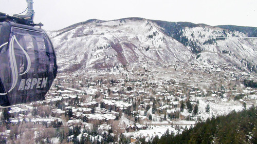Vista de Aspen desde la Gondola