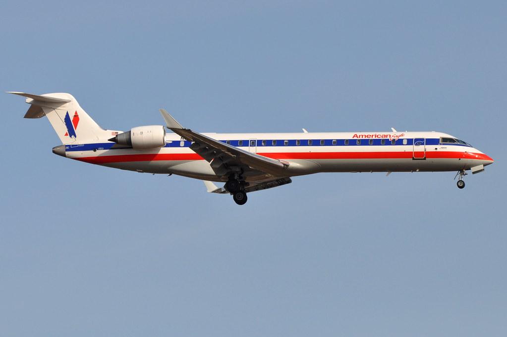 American Eagle - Bombardier (Canadair) CRJ-702 (CL-600-2C10) - N541EA - John F. Kennedy International Airport (JFK) - April 9, 2011 1 589 RT CRP