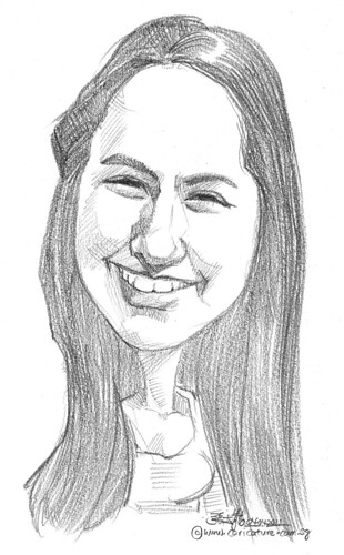 caricature in pencil - 11