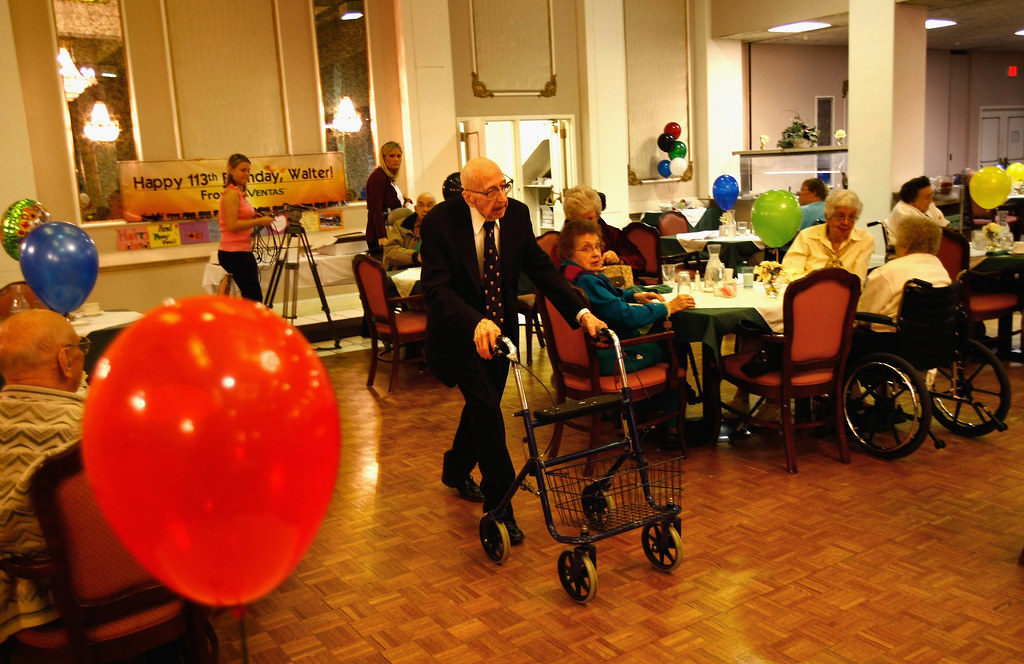 "Walter Breuning, the ""World's Oldest Man"""
