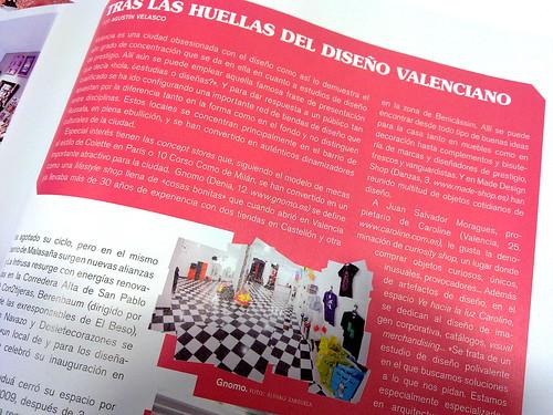 110400 Calle 20 - Tras las huellas del diseño valenciano (detalle)