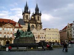 Old Town Square, Prague (caf_solo) Tags: square prague czechrepublic oldtown staremesto 2011 starmsto