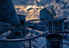 Apocalypse NOW! (geopalstudio) Tags: sky clouds nikon industrial barrel communism oil 8mm hdr d60 samyang kremikovci photoengine promoteremotecontrol oloneo