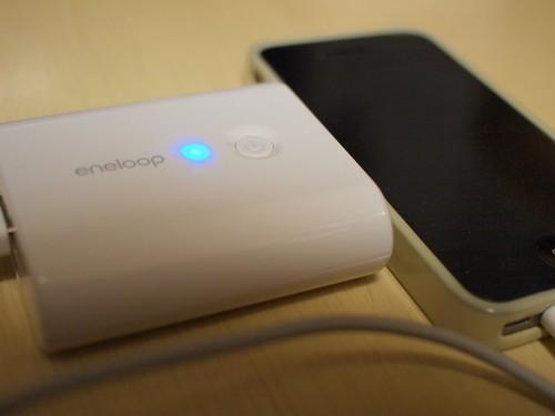iPhone4充電中