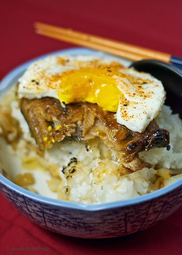 Japanese Broiled Eel Rice Bowl 01