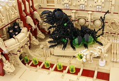 Queen (Bart De Dobbelaer) Tags: lego space hex diorama