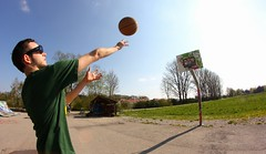 21 session (Julian Schmidt) Tags: game basketball 21 fisheye session walimex