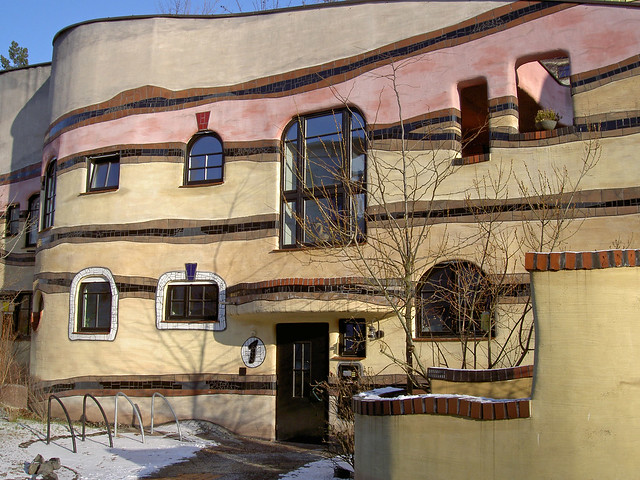 Appartements de Hundertwasser Allemagne