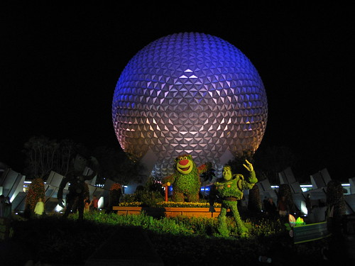 geodesic dome, Future World