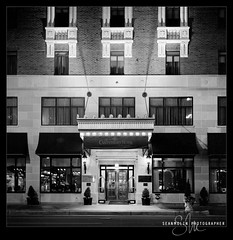 Room 606 *Explored* (Sean Molin Photography) Tags: blackandwhite bw 6x6 film rollei rolleiflex mediumformat hotel downtown indianapolis streetphotography indy indiana negative squareformat scanned april kodaktrix filmgrain 2011 naptown fivestarhotel kodakhc110 rolleiflex35fplanar film:iso=400 film:brand=kodak thecanterbury film:name=kodaktrix400 developer:brand=kodak developer:name=kodakhc110 thecanterburyhotel filmdev:recipe=6554