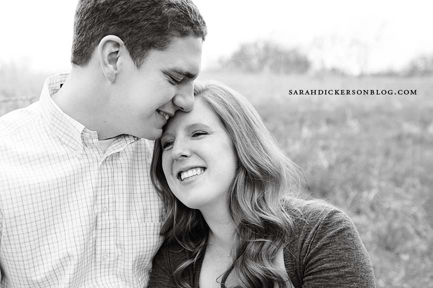 Kansas City country engagement session