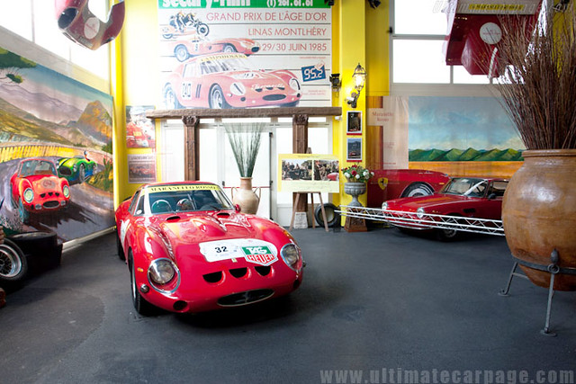Ferrari 250 GTO_Museu Maranello Rosso