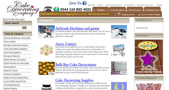 cupcake courier - cake decorating company