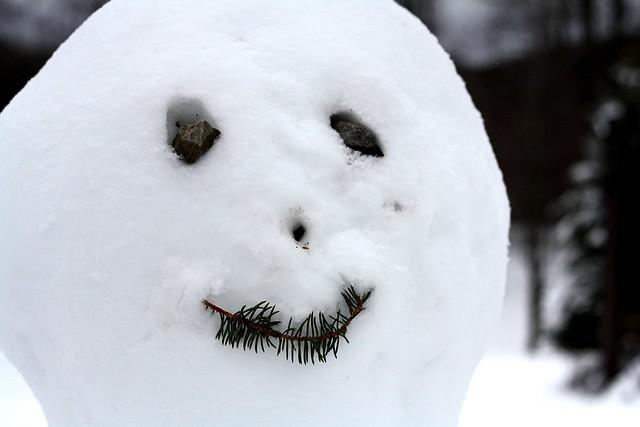 Frosty's face