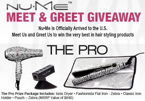 Nume Styling Tools Giveaway