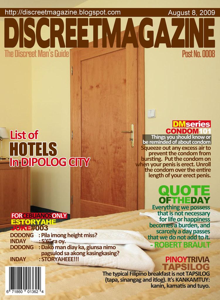 Discreet Magazine August 8 2009