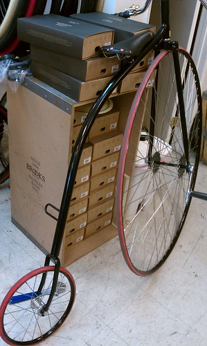 Penny Farthing at Flying Pigeon LA