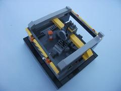 Maintenance Crane (2) (The Legonator) Tags: lego crane military microscale