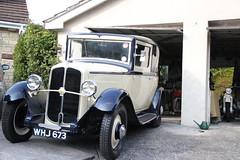 Renault Monaquatre 1934 (MattKibler) Tags: old blue classic car cream renault 1934 monaquatre