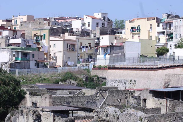 Herculaneum: ruins beneath the modern town