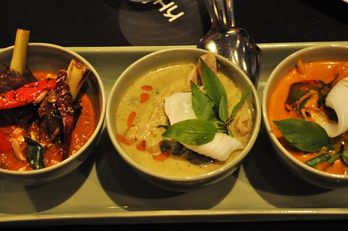 trio of curries
