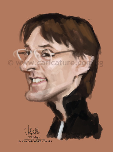 Caricature for ToonPool client - 2 (watermark)