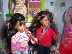 Christmas in the air198 (citycirclez) Tags: barbie diorama stacies
