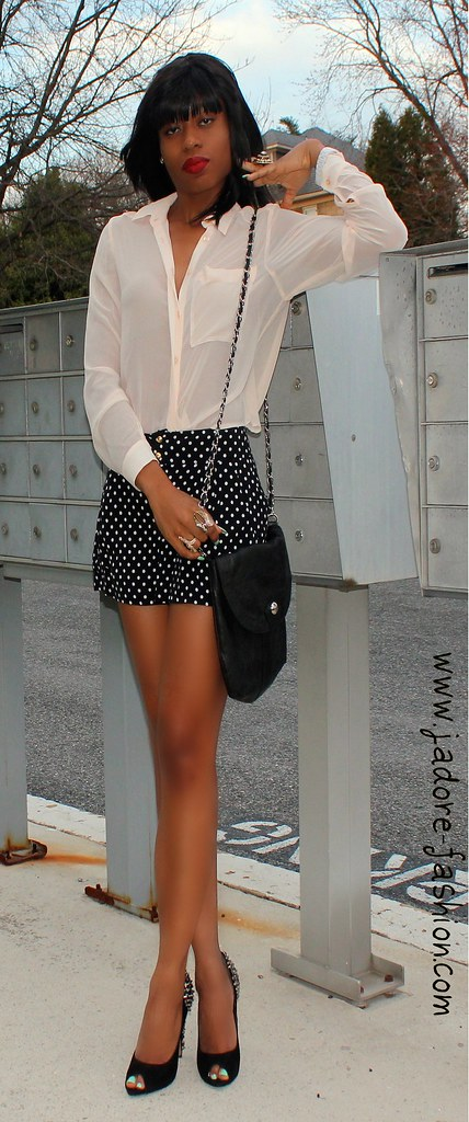 Polka dots by www.jadore-fashion.com