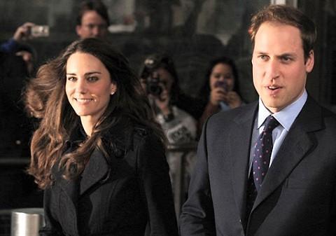威廉王子和凯特.米德尔顿(档案照) 图片来源: AFP