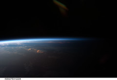 Sunset Over Western South America (NASA, International Space Station, 04/12/11) [Explored] (NASA's Marshall Space Flight Center) Tags: sunset southamerica earth bolivia nasa saltlake limb internationalspacestation salardecoipasa stationscience crewearthobservation stationresearch