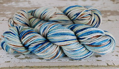 """Colored Cement (Var)"" UK BFL Aran"
