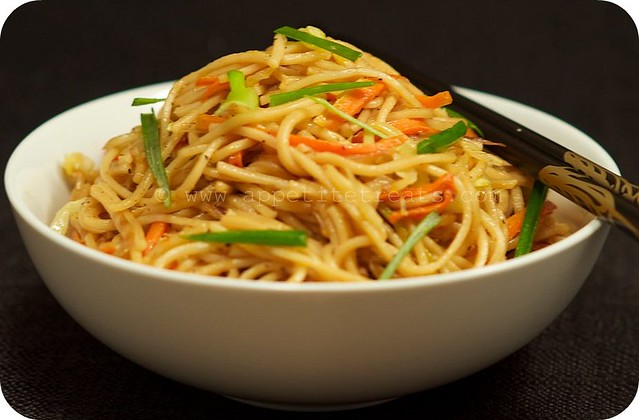 Vegetable Chow Mein - Appetite Treats