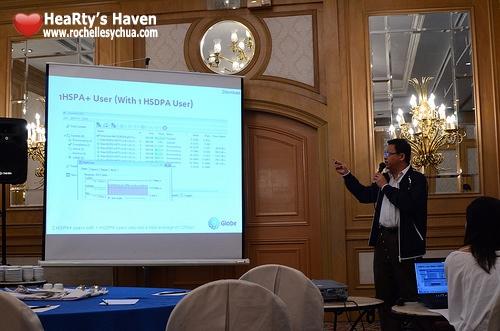 Globe HSPA+ Presentation