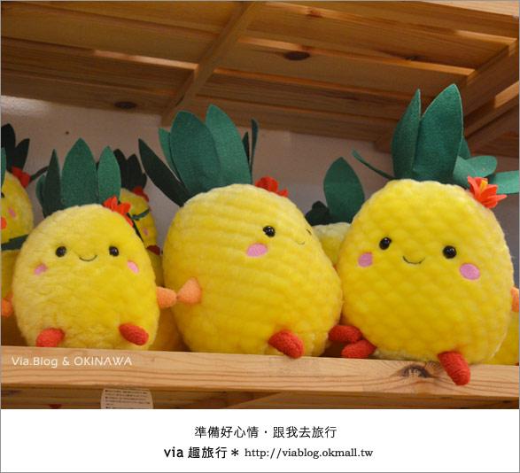 【via的沖繩旅誌】名護鳳梨公園~可愛又香甜的鳳梨樂園!25
