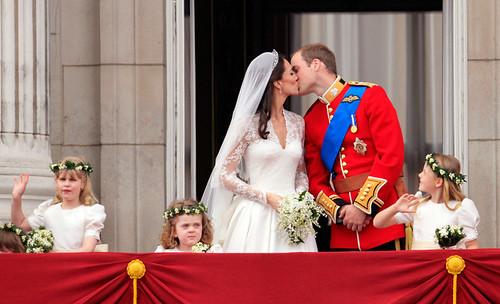 焦点大图 – 图片中的皇室婚礼