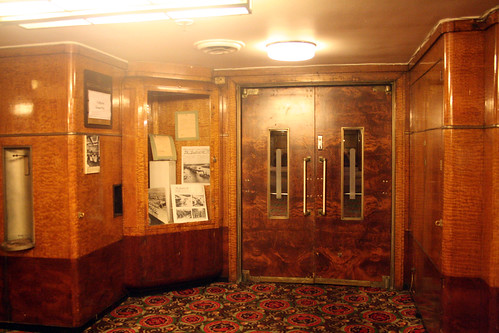 Queen Mary - Entrance to Former Second-Class Lounge (Now Brittania Room)