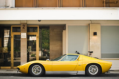 Lamborghini Miura S (Lambo8) Tags: horse car yellow jaune switzerland photo hp italian nikon italia power suisse geneva d 8 s ferrari porsche 200 28 af gt nikkor ge 80 genve lamborghini f28 supercar ch profil 80200 bologne miura 80mm 200mm afd d80 hypercar worldcars