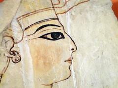 Egyptian Pharoh (Claudia Shultz) Tags: paris france macro museum painting march spring louvre egyptian pharoh 2011