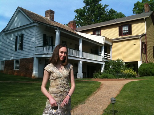 Amy at James Monroe's House