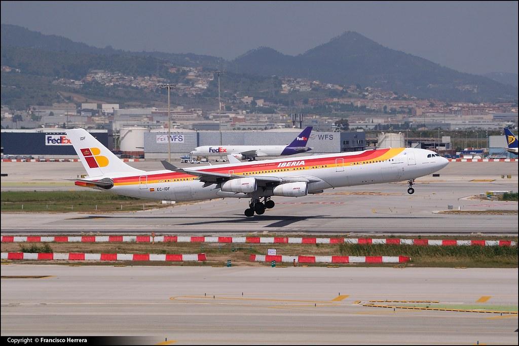 Incidente vuelo IB6126 Miami a Barcelona / Iberia - Airbus A340-313X (EC-IDF)