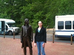 Amy and Thomas Jefferson