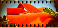 vette xpro (Redfishingboat (Mick O)) Tags: xpro corvette fujichromeprovia100f rdpiii burbankblvd sprocketrocket unicolorc41kit lomo30mmf108