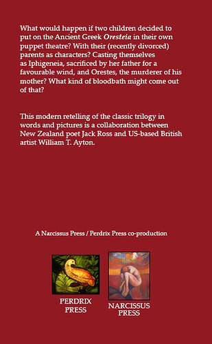 back cover | Scenes from The Puppet Oresteia