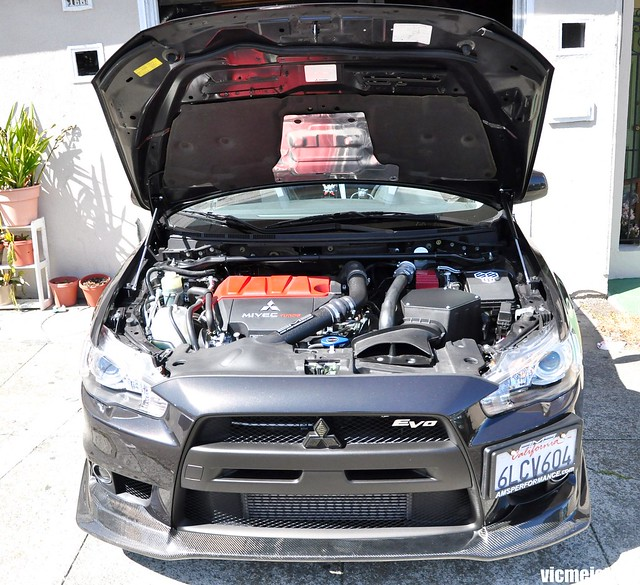 Aem Intake For Ralliart: My Evo X After A Year ;)