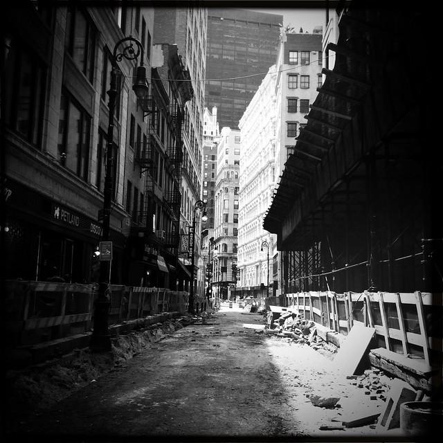 Nassau Street, street renovations