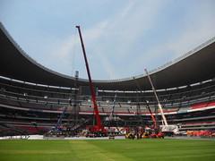 Cuarto día de montaje - Estadio Azteca 28