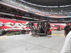 Cuarto día de montaje - Estadio Azteca 32