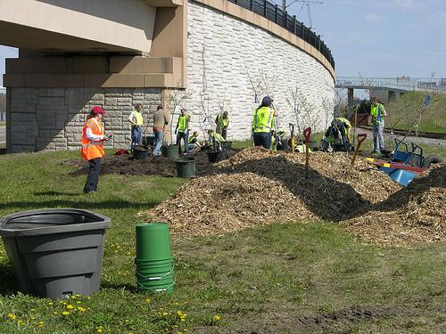 2011 Arbor Day Greenway zones 3, 4